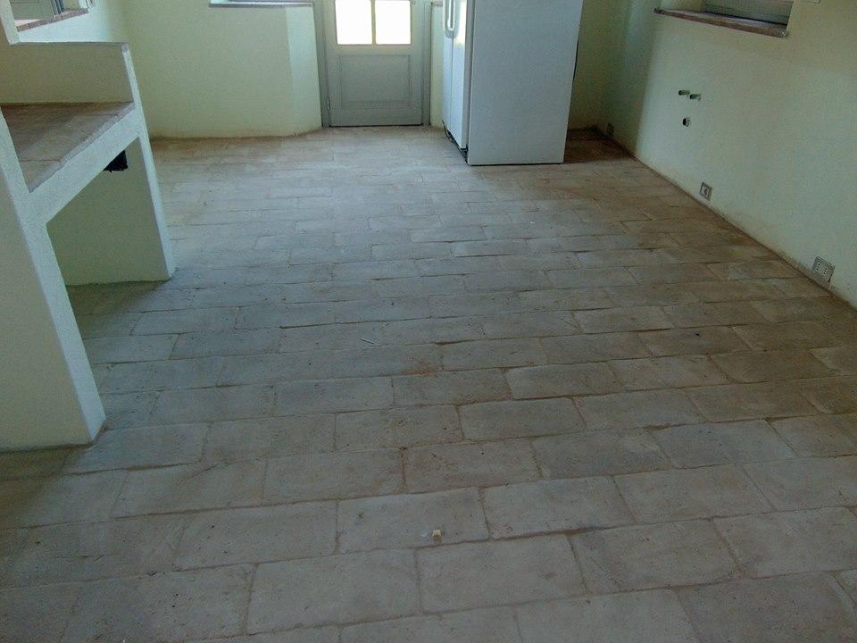 Lavaggio pavimento in cotto lavori eseguiti nel 2015