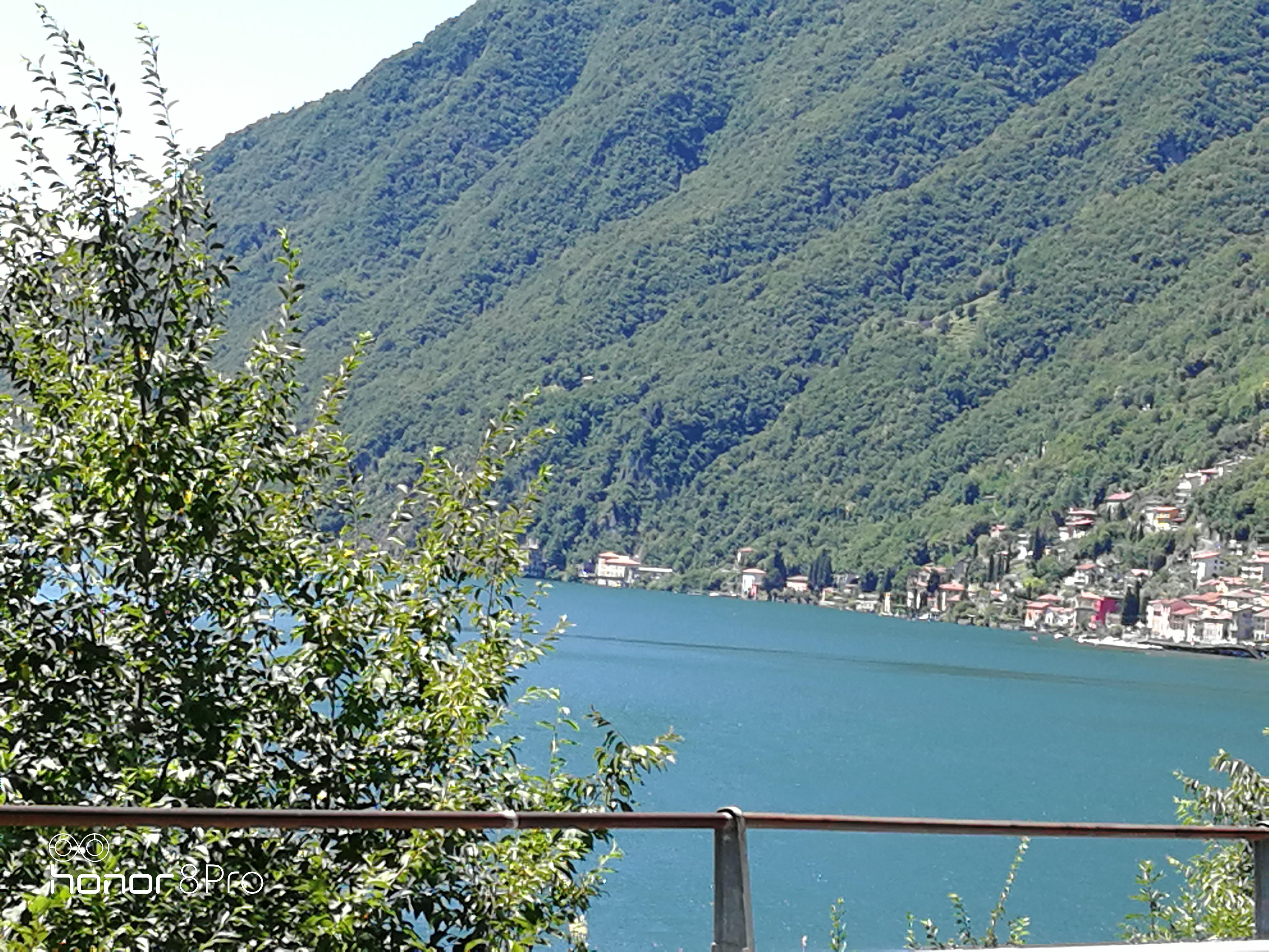 Lavaggio e trattamento cotto effettuato Villa sul lago di Lugano
