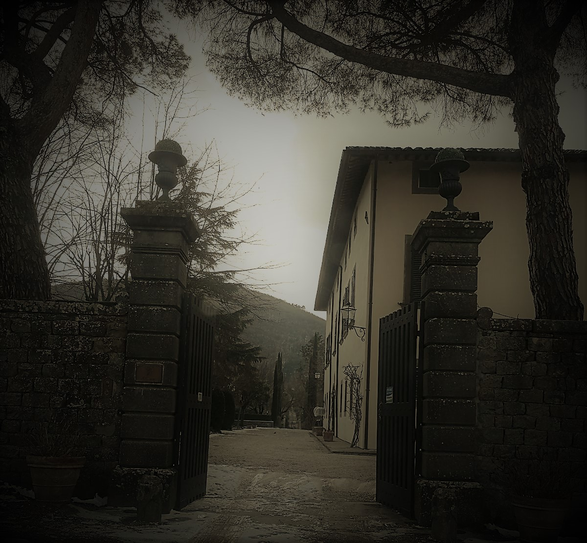 Antica Villa del 1400 nelle campagne di Cortona(AR)
